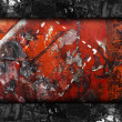 Rusty background metal texture grunge paper abstract wall design — Stock Photo