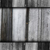 Gray old texture wooden fence background your message wallpaper — Stock Photo