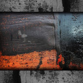 Iron background metal texture rusty old rust grunge steel metall — Stock Photo