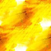 La luz del sol acuarela textura transparente amarilla rojo con manchas de pintura — Foto de Stock