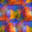 Стоковое фото: Sunlight seamless painting orange 'yellow blue red watercolor