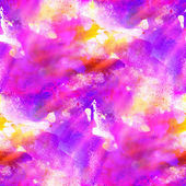 Sunlight seamless painting purple blue pink watercolor with brig — Stock Photo