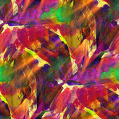 Sunlight seamless painting purple red green yellow watercolor wi — Stock Photo