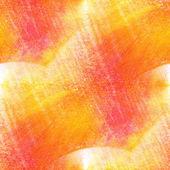 Güneş ışığı kesintisiz resim kırmızı sarı turuncu suluboya ile bri — Stok fotoğraf