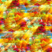 Sunlight seamless red yellow green blue texture watercolor wallp — Stock Photo