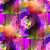 Sunlight watercolor art purple pink seamless abstract — Stock Photo