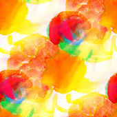 Sunlight watercolor red yellow green orange seamless abstract te — Stock Photo