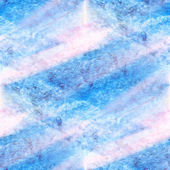 Sunlight spot watercolor blotch texture blue isolated on a white — Stock Photo