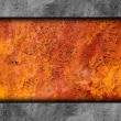 Metal background texture old rusty grunge iron rust brown dirty — Stock Photo