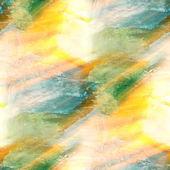 La luz del sol arte embadurnamiento fondo verde azul acuarela abstracta pape — Foto de Stock