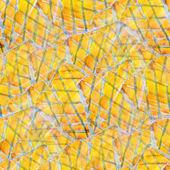 Sunlight seamless background art hand yellow black watercolour b — Stock Photo