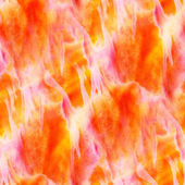 Sunlight watercolor art orange red seamless abstract texture han — Stock Photo