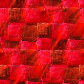 Sunlight seamless texture color watercolour red square abstract — Stock Photo