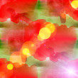 Bokeh abstract red green watercolor art seamless texture hand pa — Stock Photo #27589125