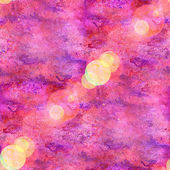 Bokeh abstract pink purple watercolor art seamless texture hand — Stock Photo