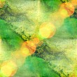 Bokeh abstract watercolor, and green art seamless texture hand p — Stock Photo