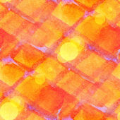 Bokeh abstract yellow, red, mesh watercolor, seamless texture ha — Stock Photo