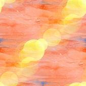 Bokeh art blue orange table spot watercolor design — Stock Photo