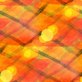 Bokeh art seamless texture background orange, yellow watercolor — Stock Photo