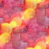 Bokeh seamless art brown, red, vanguard watercolor design — Stock Photo