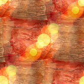 Bokeh wallpaper background red brown watercolor art seamless tex — Stock Photo