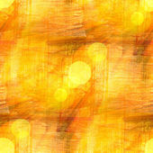 Bokeh wallpaper background yellow watercolor art seamless and te — Stock Photo