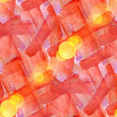 Bokeh wallpaper orange abstract watercolor art seamless texture — Stock Photo