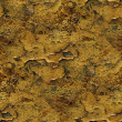 Stock Photo: Seamless metal background yellow old iron paint rust rusty abstr
