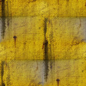 Sömlös bakgrund färg gul textur grunge gamla metall järn d — Stockfoto