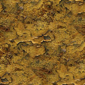 Seamless metal background yellow old iron paint rust rusty abstr — Stock Photo