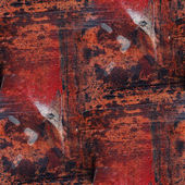 Seamless metal rusty background texture grunge paper abstract wa — Stock Photo