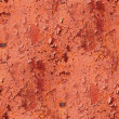 Seamless metal texture red background grunge iron wall old rusty — Stock Photo #27750519
