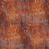 Seamless rusty metal background texture iron old rust grunge ste — Stock Photo