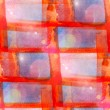 Sun glare abstract seamless painted watercolor orange, blue back — Stock Photo #27761639