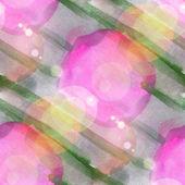 Sun glare art vanguard circle band watercolor design — Stock Photo
