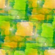 Sun glare grunge texture, watercolor green yellow seamless backg — Stock Photo #27783923