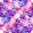 图库照片: Sun glare watercolor blue purple background abstract paper art t