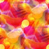Sun glare red purple yellow background watercolour brush texture — Zdjęcie stockowe