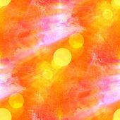 Sun glare red purple yellow background watercolour brush texture — Stock Photo