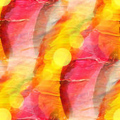 Sun glare watercolor blue red yellow stripes background abstract — Stock Photo