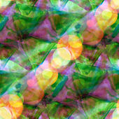Sun glare watercolor purple green background abstract paper art — Stock Photo