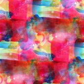 Sunlight grunge band pink, blue, yellow, vanguard texture waterc — Stock Photo