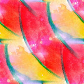 Sunlight abstract seamless painted yellow, red watercolor backgr — Stock Photo