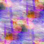 Sunlight background purple black ornament watercolor art seamles — Stock fotografie