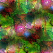 Sunlight grunge green, red band texture, watercolor seamless, ba — Stock Photo