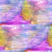 Luce solare tabella giallo, violetto, ornamento grafico tratto pennello — Foto Stock