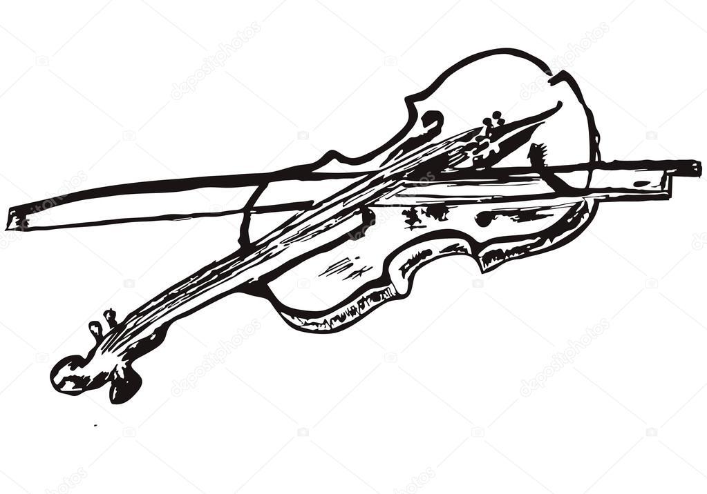 рисунки карандашом музыкальных инструментов: