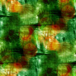 Stock Photo: Sunlight green seamless, cubism abstract, art Picasso texture, w
