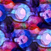 Sunlight macro blue, purple watercolor seamless texture and pain — Stock Photo