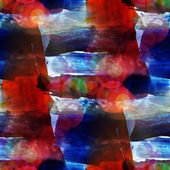 Sunlight macro red, blue watercolor seamless texture paint stain — Stock Photo